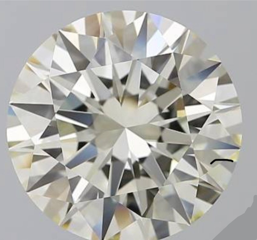 8.01ct N VVS1 Round Cut Loose Diamond GIA