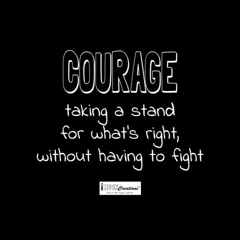courage rhyme picture