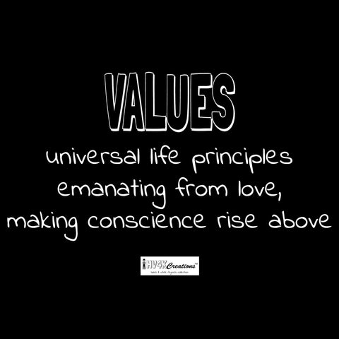 values rhyme picture