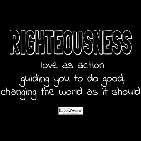 righteousness rhyme picture