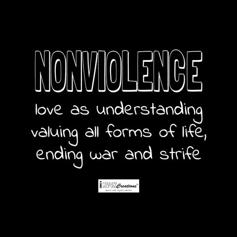 nonviolence rhyme picture