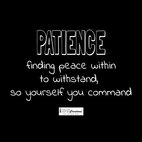 patience rhyme picture