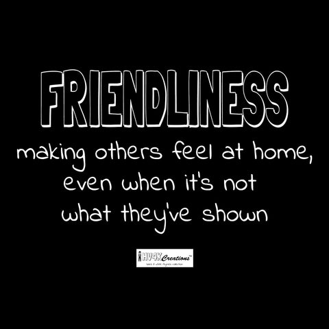 friendliness rhyme picture