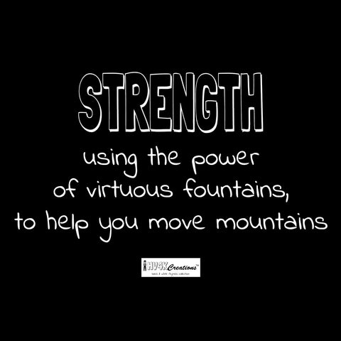 strength rhyme picture
