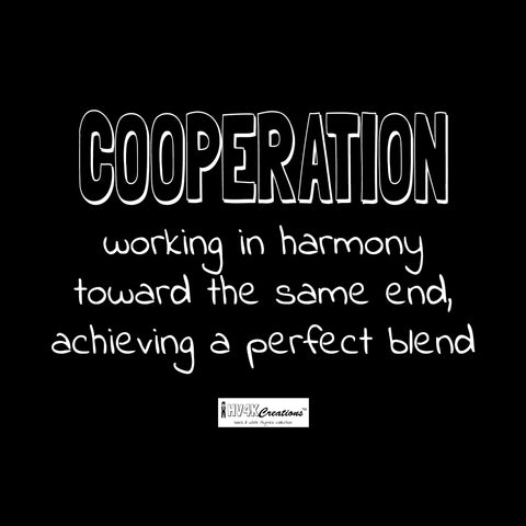 cooperation rhyme picture