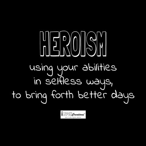 heroism rhyme picture