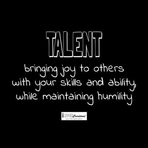 talent rhyme picture