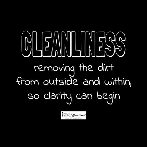 cleanliness rhyme picture