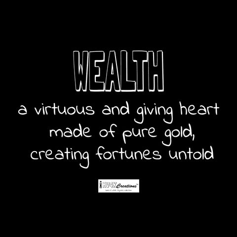 wealth rhyme picture