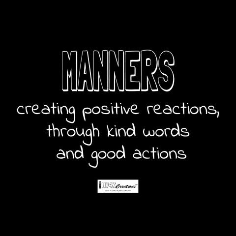 manners rhyme picture