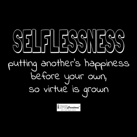selflessness rhyme picture