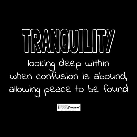 tranquility rhyme picture
