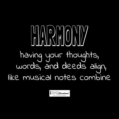 harmony rhyme picture