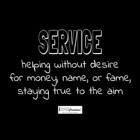 service rhyme picture
