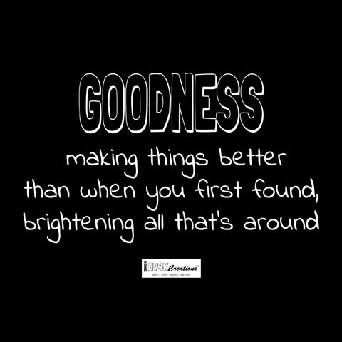 goodness rhyme picture