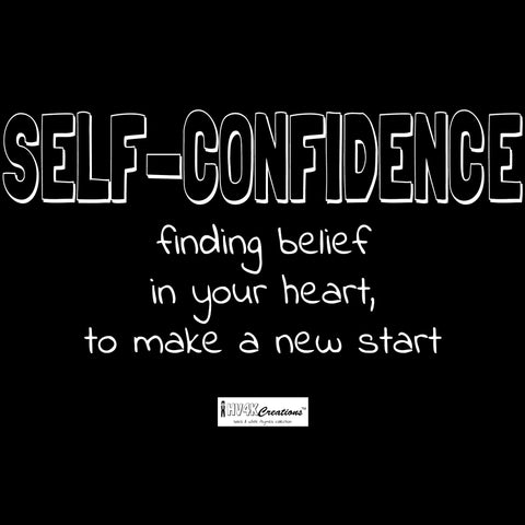 self-confidence rhyme picture