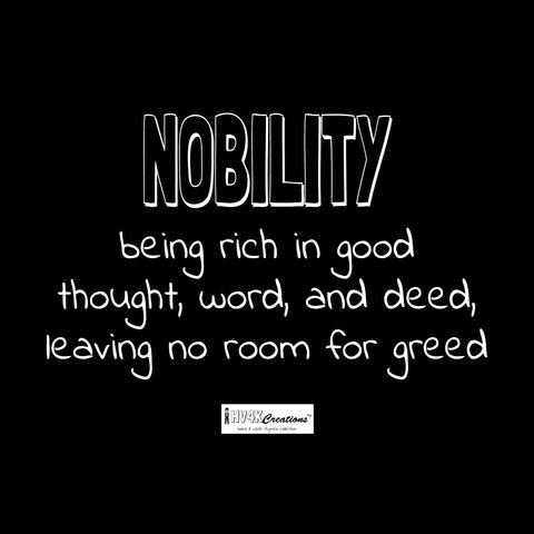 nobility rhyme picture