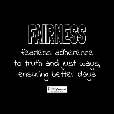 fairness rhyme picture