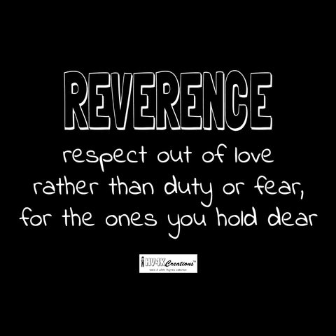 reverence rhyme picture
