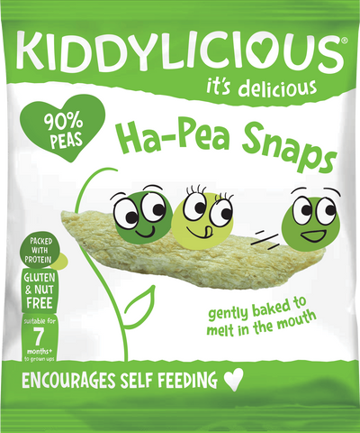 Ha-Pea Snaps - Box of 8 x 15g bags