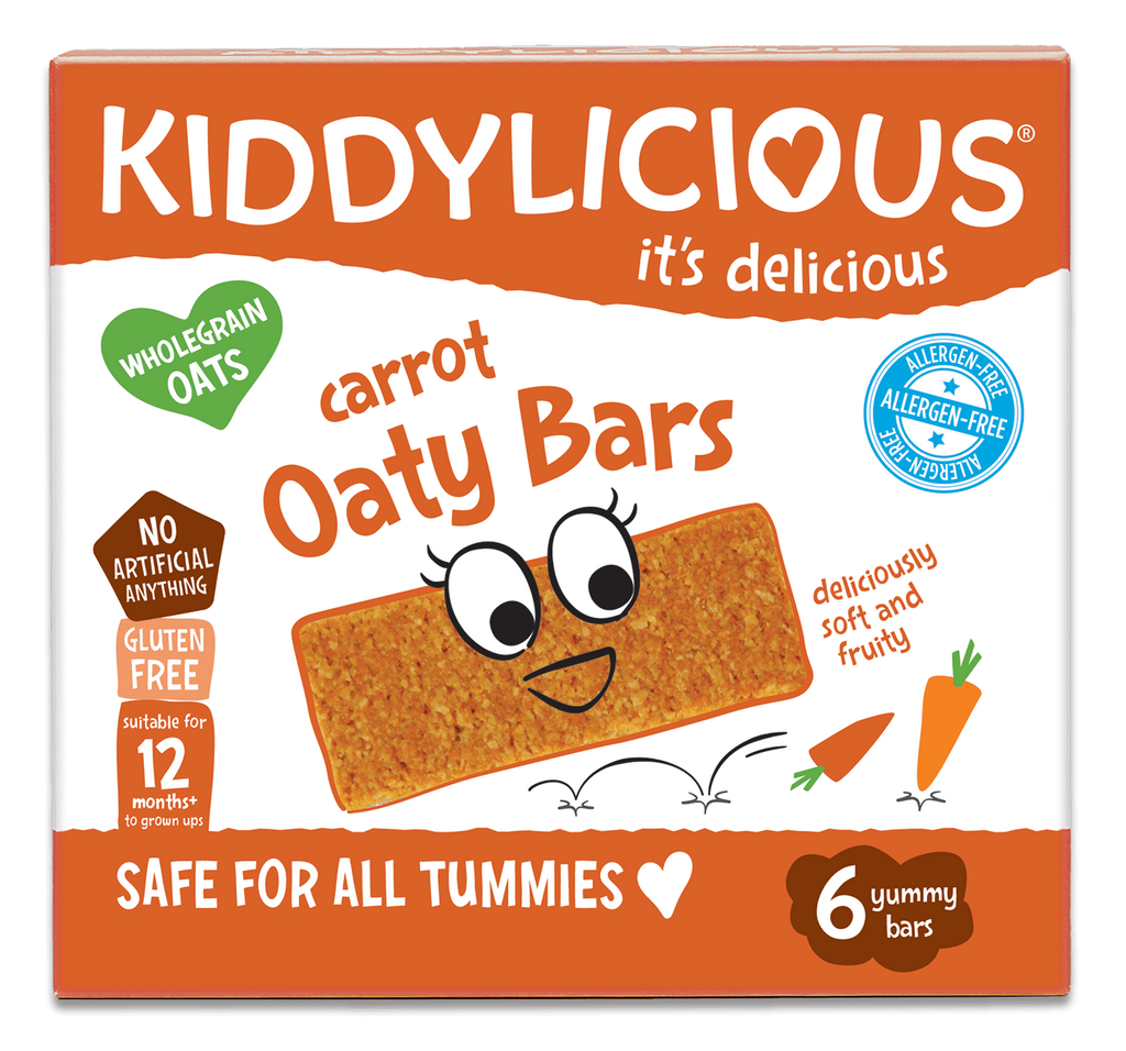 Carrot Oaty Bars - Case of 6 boxes