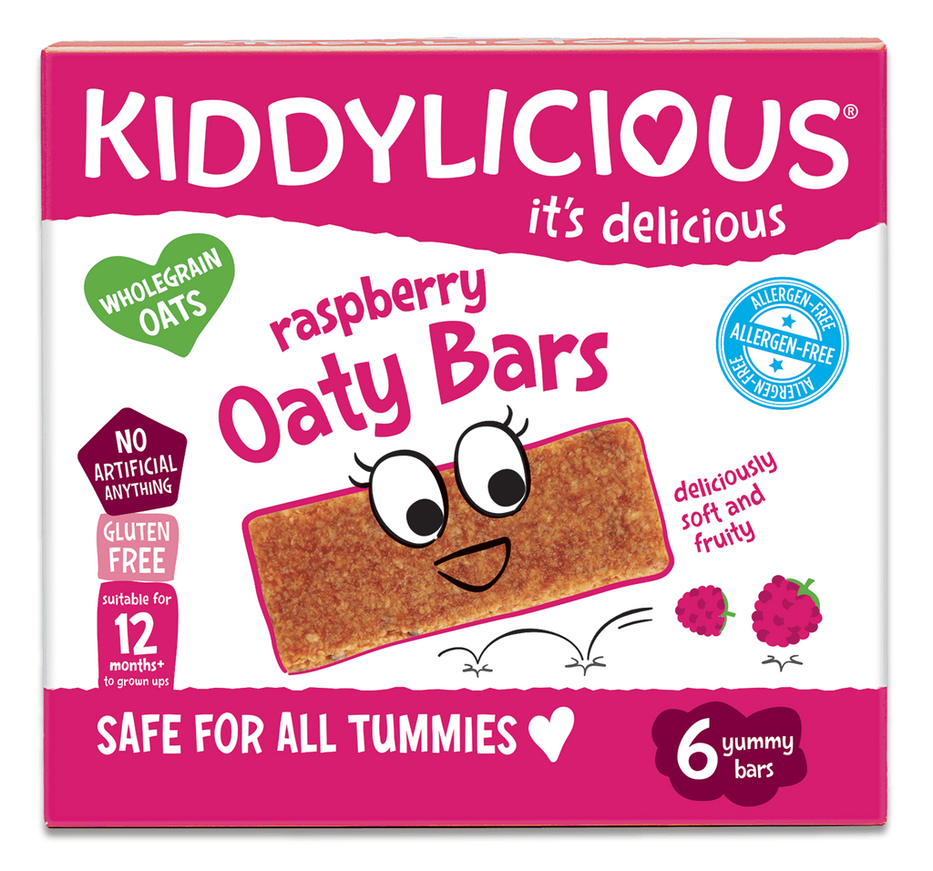 Raspberry Oaty Bars - Case of 6 boxes