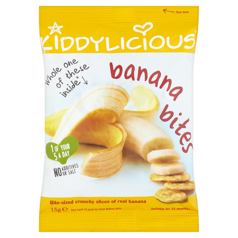 Banana Bites - Box of 8 x 15g bags