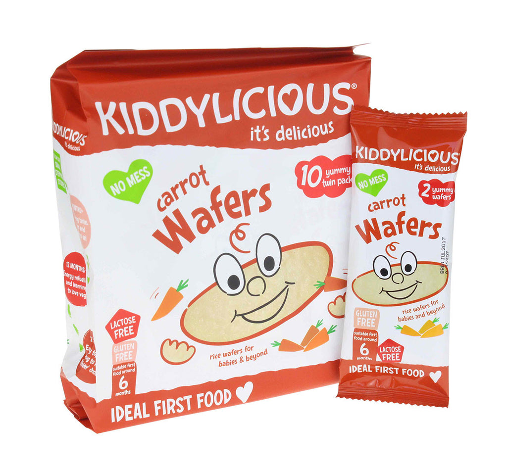 Carrot Wafers - Case of 4 Bags