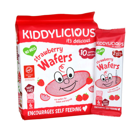Strawberry Wafers - Case of 4 Bags