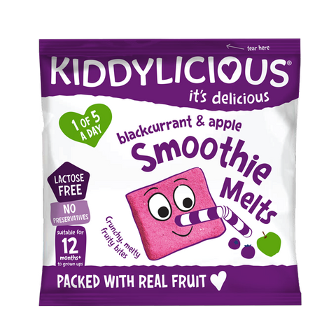 Blackcurrant & Apple Smoothie Melts - Box of 16 x 6g bags