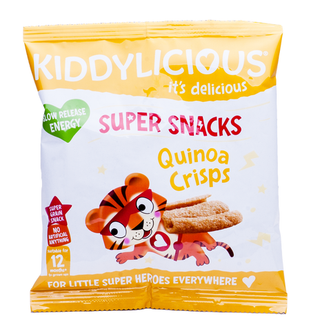 Quinoa Crisps - Box of 9 x 12g bags