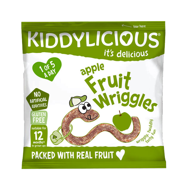 Apple Wriggles - Box of 18 x 12g bags