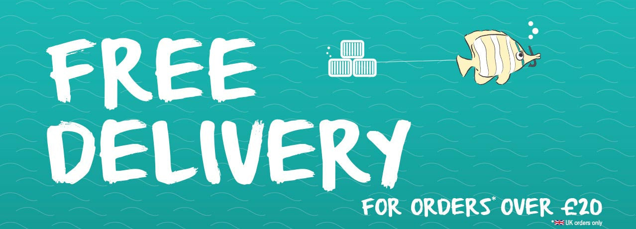 Free Delivery - over £20