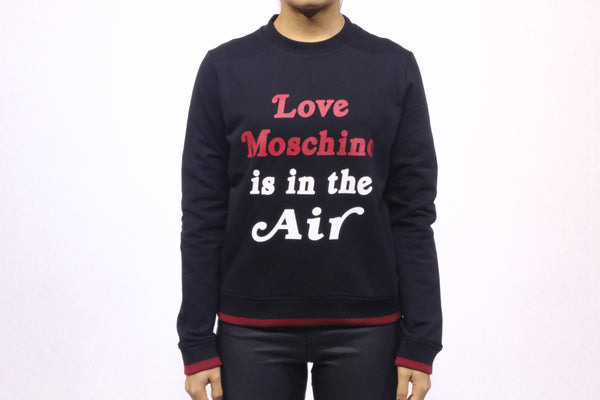 Sweat-Shirt Love Moschino Noir
