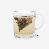 Rose green tea bags