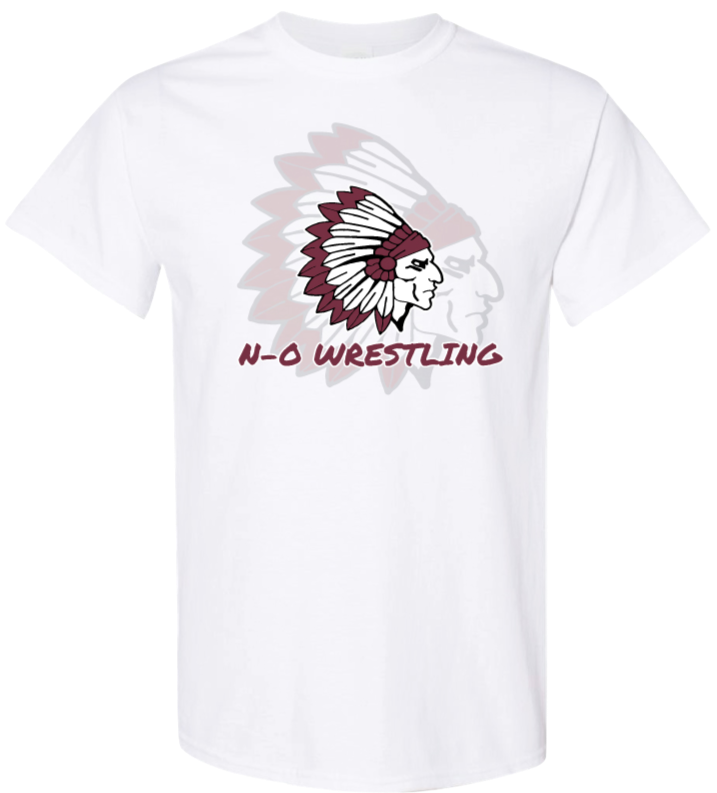 Neligh-Oakdale Wrestling - White Short Sleeve