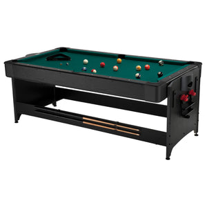 Fat Cat Original 2-in-1 7' Pockey Multi-Game Table