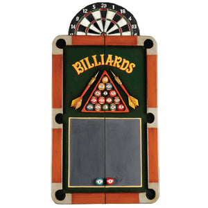 RAM Game Room Billiards Dartboard Cabinet