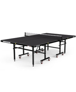 Killerspin MyT7 Breeze Outdoor Tennis Table Weather Resistant Outdoor Ping Pong Table With Storage Pockets