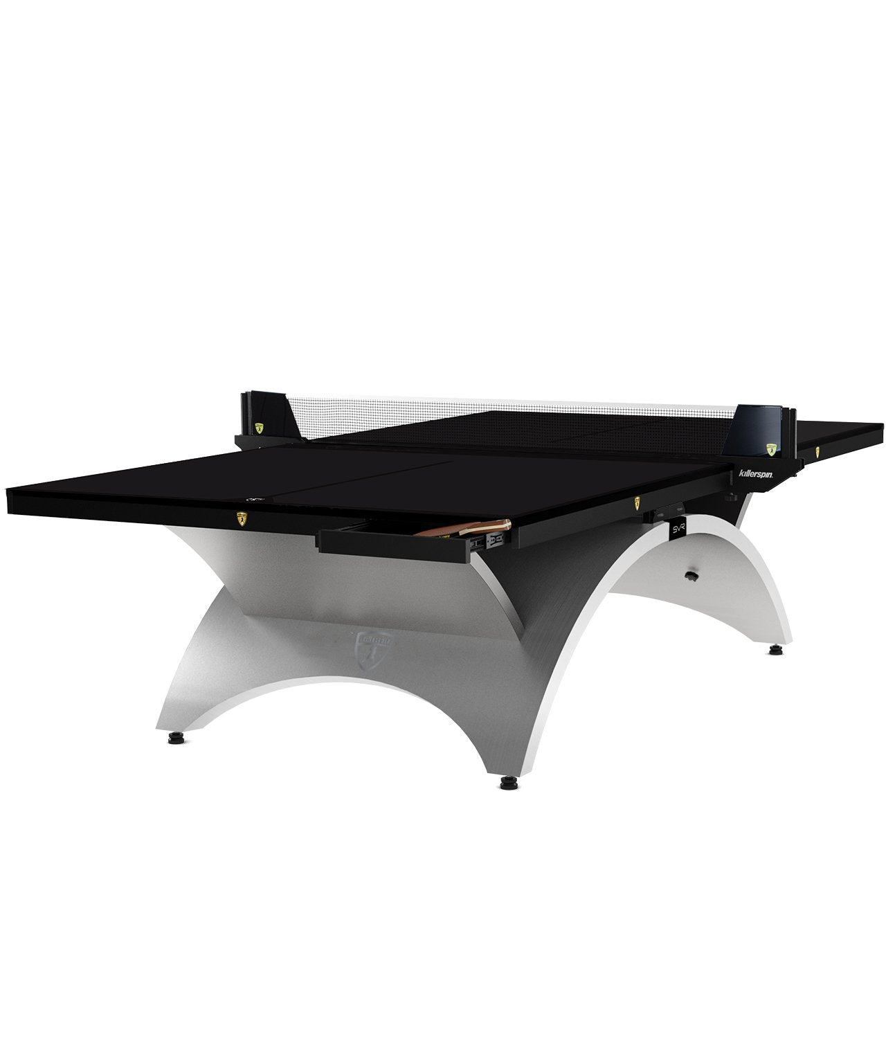 Killerspin Revolution SVR Platinum Black Indoor Table Tennis Ping Pong Table