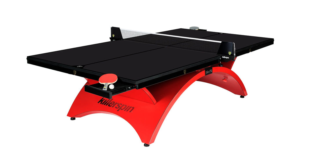 Killerspin Revolution Series SVR Rosso Luxury Table Tennis Ping Pong Table