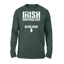 Load image into Gallery viewer, Irish Breathalyzer Shirt - Standard Long Sleeve