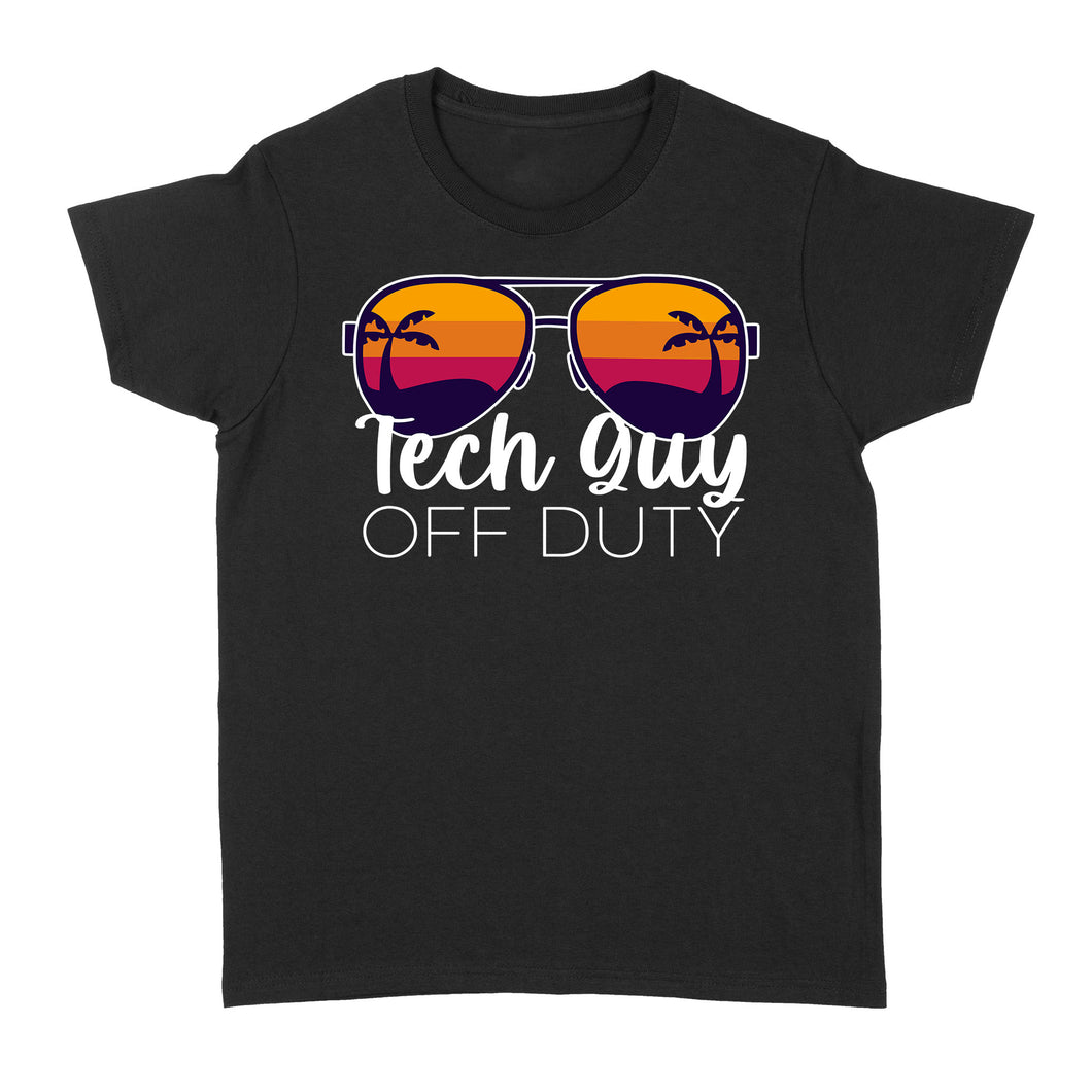 Tech Guy Off Duty - Standard Women's T-shirt