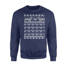 Load image into Gallery viewer, Dachshund Christmas - Standard Crew Neck Sweatshirt