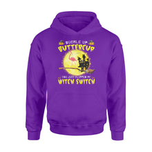 Load image into Gallery viewer, Buckle Up Buttercup You Just Flipped My Witch Switch Flamingo Halloween - Standard Hoodie
