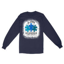 Load image into Gallery viewer, In April Wear Blue Autism Awareness - Standard Long Sleeve