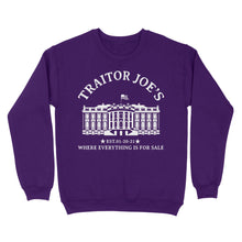 Load image into Gallery viewer, Traitor Joe's EST - Standard Crew Neck Sweatshirt