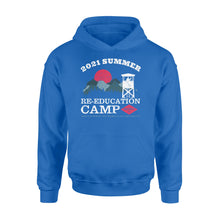 Load image into Gallery viewer, 2021 Summer Re-Education Camp Department Of Homeland Security Standard Hoodie