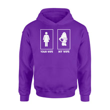 Load image into Gallery viewer, My Wife Your Wife Wonder Woman - Standard Hoodie