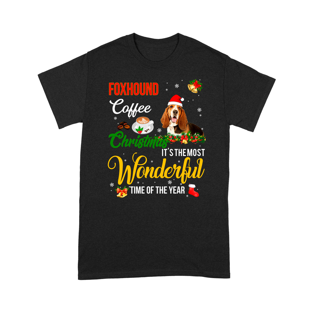 Foxhound Coffee Christmas It's The Most Wonderful Time Of The Year - Standard T-shirt